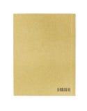Pusta książkowa pokrywa z barcode Zdjęcia Stock