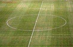 pusta piłki nożnej piłka nożna smoły Obrazy Stock