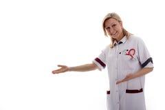pusta pielęgniarki przedstawienie przestrzeń Zdjęcie Royalty Free