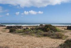 pusta plaża Zdjęcie Royalty Free