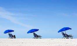 pusta plaża Obrazy Stock