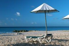 pusta plaża Obraz Stock