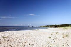 pusta plaża Fotografia Stock