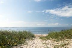 pusta plaża Zdjęcia Royalty Free