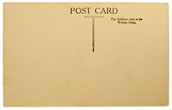 pusta pocztówka Zdjęcie Stock