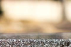 Pusta przestrzeń przy wierzchołkiem baza jest granitowym kamieniem zdjęcie stock