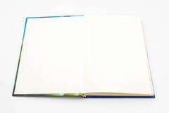 Pusta pusta biała książka Fotografia Royalty Free