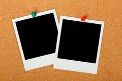 Puste fotografii ramy Obrazy Stock