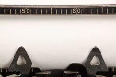 puste kartki maszyny do pisania Zdjęcie Stock