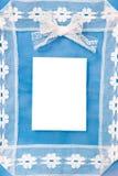 puste karty pocztę arkusza papieru Fotografia Stock