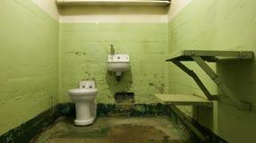 puste komórki do więzienia Obrazy Stock