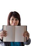 puste książkowe strony Fotografia Royalty Free
