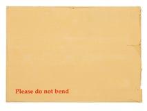 puste miejsce dokumentuje kopertę znacząco Fotografia Royalty Free