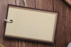 Puste miejsce etykietki lub etykietki Obrazy Stock