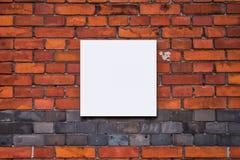 Puste miejsce fotografii lub obrazu egzaminu próbnego up kopii kwadratowa kształtna przestrzeń Fotografia Stock