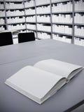 Puste miejsce książka Zdjęcia Stock