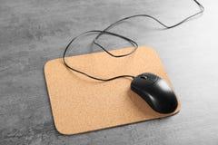 Puste miejsce matowa i komputerowa mysz Obraz Stock