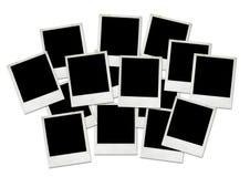 puste miejsce obrazuje polaroid Fotografia Stock