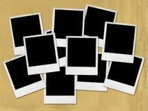 puste miejsce obrazuje polaroid Zdjęcia Royalty Free