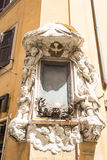 Puste miejsce Podpisuje wewnątrz Rzym. Fotografia Royalty Free