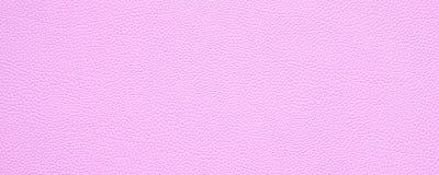 Puste miejsce tekstury tła różowy rzemienny sztandar z kopii przestrzenią fotografia stock