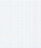Puste miejsce wykładający notatnika prześcieradło (z przekątien liniami i czerwonym marginesem) Obrazy Stock