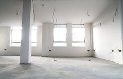 puste mieszkanie budowy Obraz Royalty Free