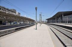 Puste pasażerskie platformy Zdjęcie Stock