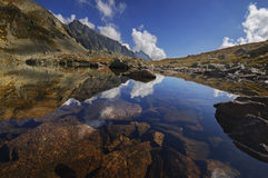 Puste pleso jezioro Obraz Stock