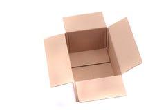 puste pudełko papieru Zdjęcie Royalty Free