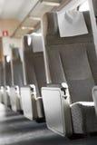 Puste siedzenia w pociągu Fotografia Royalty Free
