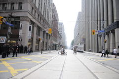 Puste ulicy. Obraz Royalty Free