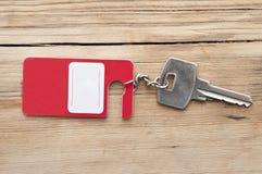 pustego klucza etykietka Fotografia Stock