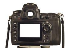 Pustego miejsca LCD Viewfinder na Nowożytnej Cyfrowej kamerze i ekran Rewidowaliśmy 2 fotografia stock
