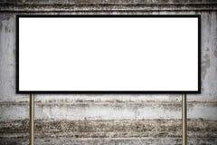 Pustego reklamowego billboardu lub szerokiego ekranu telewizja Zdjęcie Royalty Free