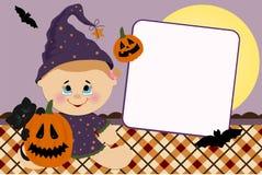 pustej karty powitań szablon Fotografia Stock