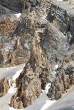 Pustkowie w losu angeles Casse déserte, Queyras Naturalny park, Francja zdjęcie royalty free