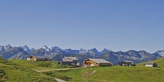 Pustur village in Bavaria Royalty Free Stock Image