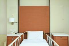Pusty łóżko szpitalne zdjęcia royalty free