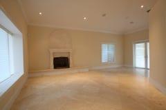 pusty żywy pokój Zdjęcie Royalty Free