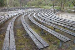 Pusty amfitheather w Stockholm Sweden zdjęcie royalty free