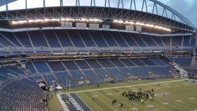 Pusty areny sportowa stadium w Seattle fotografia stock