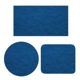 Pusty błękit plastelina Set Obraz Stock