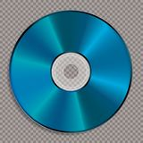 Pusty błękitny koloru cd Ilustracji