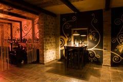 pusty baru wino Zdjęcie Stock