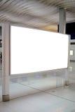 Pusty billboard Fotografia Stock