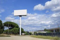 Pusty billboardu egzamin próbny up Zdjęcie Royalty Free