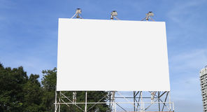 pusty billboardu szablon zdjęcia royalty free