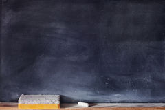 Pusty blackboard zdjęcia royalty free