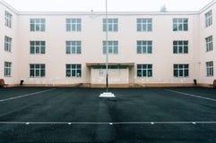 pusty boisko szkolne Obraz Stock